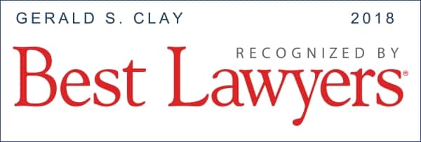 Gerald Clay Best Lawyers 2018