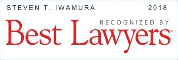 Best Lawyers 2018 Stephen Iwamura