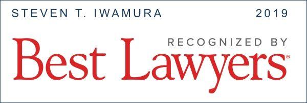 Best Lawyers 2019 Stephen Iwamura